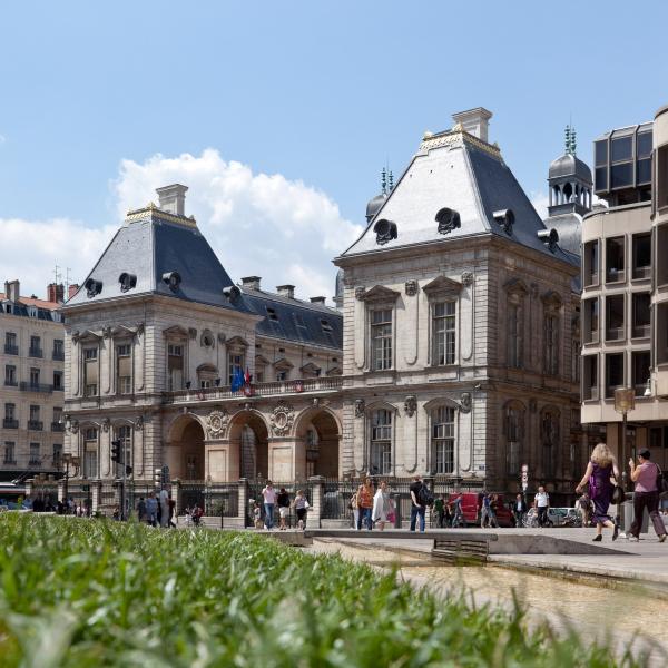 Hôtel de Ville de Lyon © www.b.rob.fr/ ONLYLYON Tourisme et Congrès